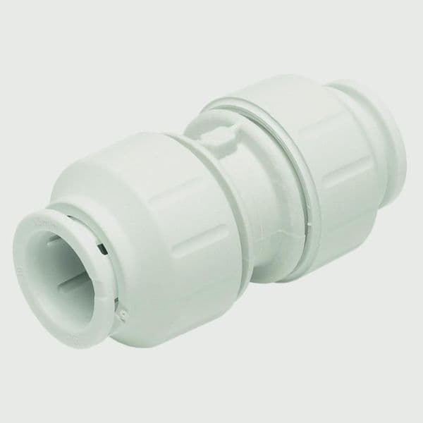 JG Speedfit Equal Straight Connector - 22mm Pack 5 - White